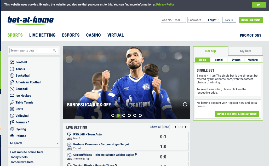 bet at home review bettingsites