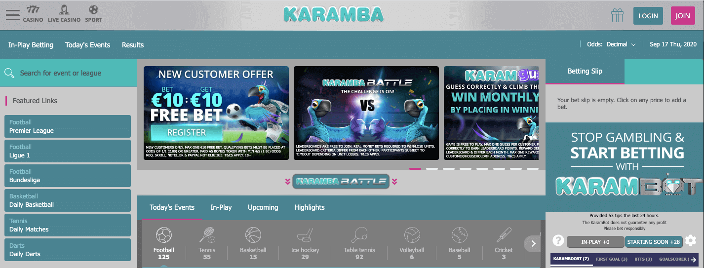 karamba review bettingsites