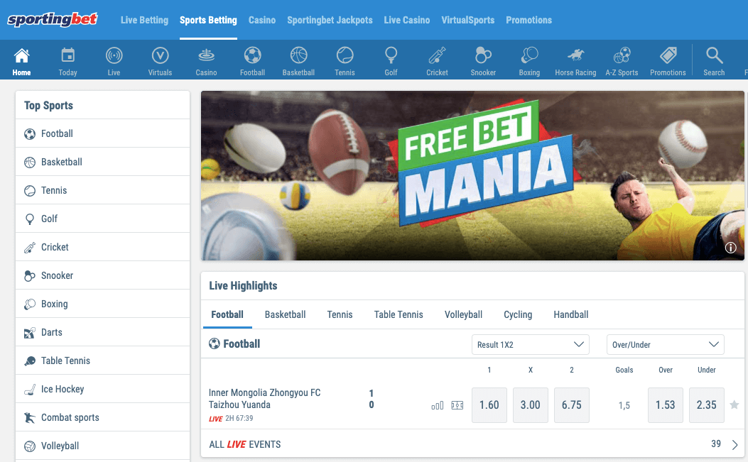 sportingbet bettingsites review